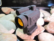BLACK SPIDER OPTICS RED DOT 3 MOA SPIKES TACTICAL W/ Cowitness Mount Scope BDC