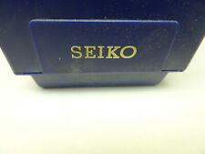 """1454-1370"""" Watch Box For Your Watch Vintage 1980'S Blue Silver """"Seiko 2P20-5B00G"""