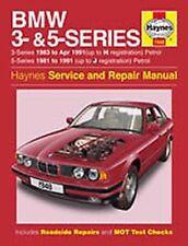 Manuels et carnets d'entretien d'automobiles BMW