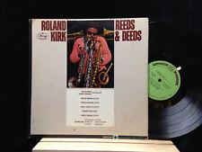 Roland Kirk-Reeds & Deeds-Mercury 20800-BENNY GOLSON PROMO
