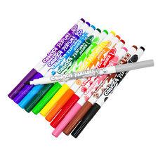 Carioca Pack 12 Fruity Perfume Scented Kids Felt Tip Colouring Marker Art Pens