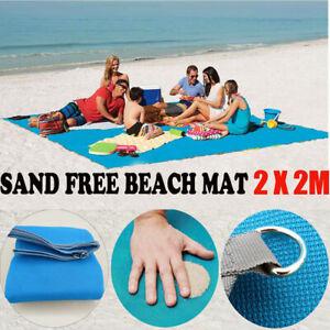 Sand Free Beach Mat Blanket Sand Proof Magic Sandless Sand Dirt & Dust Disappear