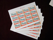 CHINA 2012-14 Full S/S Red Footprints Stamp 紅色足跡