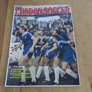 1978 LONDON SOCCER MAGAZINE WEST HAM ARSENAL CHELSEA SPURS BRENTFORD WIMBLEDON +
