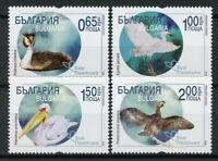 Bulgaria 2019 MNH Birds Migration Pelicans Egrets Cormorant Grebes 4v Set Stamps