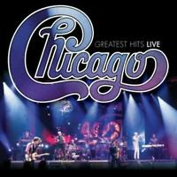 CHICAGO Greatest Hits Live (2018) 14-track CD album NEW/SEALED