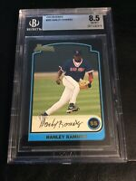 2003 Bowman #285 Hanley Ramirez Rookie Card BGS 8.5 Boston Red Sox Original