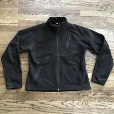 Ibex Jacket Women's Large Softshell Climawool Full Zip Jacket Dark Brown
