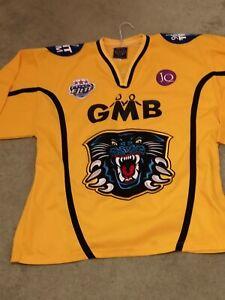 Nottingham Panthers sewn ice hockey jersey shirt top adult large