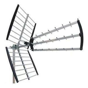 Antenne UHF für Empfang der Kanäle DVBt mit Filter Lte