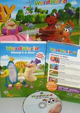 WordWorld: Sheep's a Star NEW! DVD, EDUCATIONAL ,PBS, PHONICS, SPELLING,LETTERS