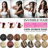 16''-30'' Invisible Wire Hair Extensions Halo Style Remy Human Hair Extension