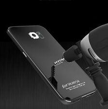 Luxury Metal Bumper Gorilla Glass Cover Case for Samsung Galaxy S6 S7 /S7 Edge