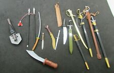 G.I. Joe or other action figure accessories - Group of Swords, Knives, etc    (8