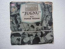 JUGNU FEROZ NIZAMI TAEC 1343 1967 RARE BOLLYWOOD india OST EP 45 rpm RECORD vg+