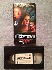Luckytown (2000) - VHS Video Tape - Drama / Crime - Kirsten Dunst - James Caan