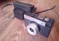 LOMO Smena Cmena Cmeha 8M 35mm Film Camera +T-43 4/40 Lens, Original Case