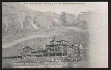Postcard FIELD British Columbia/CANADA  CP Railroad Line at Stephen Hotel 1904?