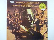LP ASHKANAZY plays RACHMANINOFF concerto 3 , Ormandy