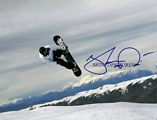 SHAUN WHITE SIGNED AUTOGRAPHED 8x10 RP PHOTO OLYMPICS GOLD SHAWN GOT AIR