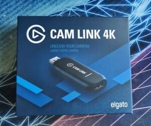 Elgato 4K Cam Link Capture Card Barely Used