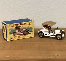 Lesney 1909 Opel Coupe Y-4 MODELS OF YESTERYEAR England car MATCHBOX
