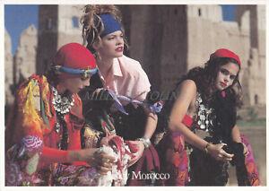 SISLEY - Fashion, Morocco, Caravan Tour 1990