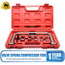 10pc Valve Spring Compressor Tool Kit for Car Motorcycle Petrol Engines AU