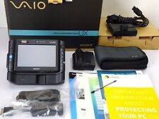 Boxed Black Sony Vaio VGN UX390N UX 1.33Ghz 1gb ram 32GB SSD Windows10 UMPC