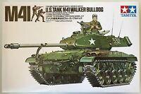 TAMIYA 35055 M41 USA Carroarmato M41 Walker Bulldog 1/35 Kit MODELLO