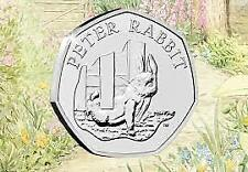 More details for beatrix potter 50p coins jemima puddle-duck, peter rabbit 16,17,18,19 & 20
