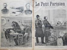 LE  PETIT PARISIEN 1895 N 356 ARRESTATION D'EMILE ARTON -COMPARUTION AU TRIBUNAL