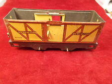 #22 of 26, OLD VTG ANTIQUE MODEL RAILROAD TRAIN CAR, AMERICAN FLYER BOX CAR