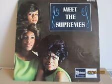 "The Supremes - Meet The Supremes'- Stateside - Vinyl 12"" Album SL10109 - Nr Exc"