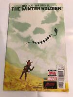 Bucky Barnes The Winter Soldier #7 Marvel Comic 1st Print 2014 NM