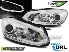 Fanali per VW Golf 6 10.08-12 CROMO LIGHT BAR DRL r87