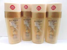 Almay Healthy Glow Makeup Plus Gradual Self Tan - 100 Light 1 oz Foundation 4X