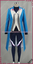 Pokemon Go Team Mystic Blanche Blue Halloween Uniform Suit Cosplay Costume S002
