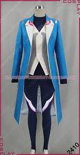 Pokemon Go Team Mystic Blanche Blue Halloween Uniform Suit Cosplay Costume S002