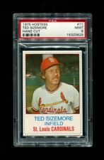 1975 TED SIZEMORE HOSTESS #71 HAND CUT PSA 9