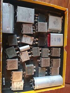 Vintage Bosch,WMA,Siemens,MP Kondensatoren,Röhrenverstärker