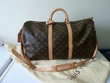 Authentic Louis Vuitton Keepall Bandouliere 50