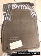 "Lexus LX470 (1998-2007) OEM Genuine 3pc CARPET FLOOR MATS ""Ivory"" (Gray)"