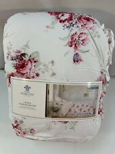 Rachel Ashwell Simply Shabby Chic Sunbleached Floral Twin Comforter NWT 2 Piece
