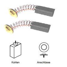 (nº 2005) escobillas motorkohlen schleifkohlen 5 x 10 x 15mm Einhell BSM 850