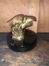 Vintage Brass Eagle Bald Eagle Paperweight