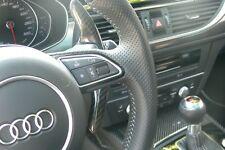 Carbon Schaltwippen-Verlängerung passend für Audi A3 S3 RS3 8P A4 S4 RS4 8K / V1