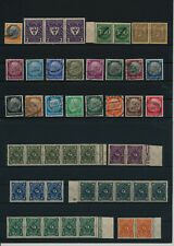 Germany, Deutsches Reich, Nazi, liquidation collection, stamps, Lot,used (TZ 30)