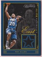 RAY ALLEN 2012-13 TIMELESS TREASURES ALL-STAR MATERIALS JERSEY #118/149