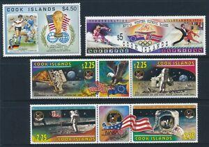 Cook Islands 1994 SG 1336 - 1341, 1365 - 1376, Sc 1147,1148, 1192 -1194 MNH